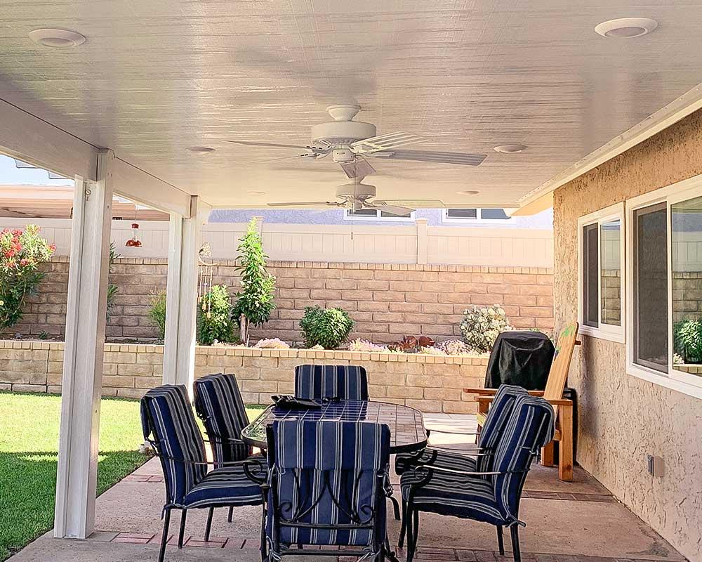 Alumawood insulated patio covers